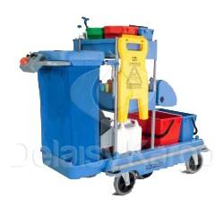 Chariot de ménage et lavage motorisé NUMATIC SPN1804