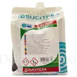 Nettoyant sols ammoniaqué ECOMIX PURE AMMONIA - Ct 4 recharges 2L