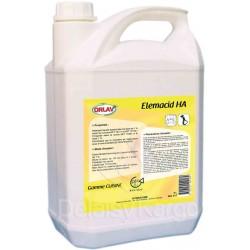 Dégraissant désinfectant bactéricide -0417- ELEMACID HA - Bidon de 5L