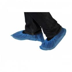 Surchaussure visiteur bleue PE imperméable 20X100 - Ct de 2000