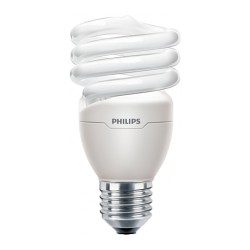 Lampe fluocompacte 20W E27 TORNADO T2 RAPIDSTART PHILIPS
