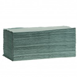 EMP 1 pl. crêpé en V recyclé vert 25x23cm - 268100 - Ct de 5000