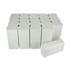 EMP 2 pl. g/c en W pure ouate blanc Ecolabel 24x32cm - Ct de 3000