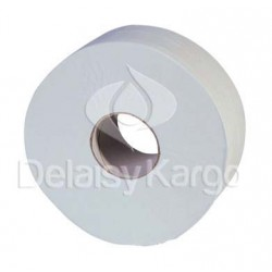 PH maxi Jumbo 350m ECOLABEL 2 pl. recyclé blanc - Colis 6 rlx