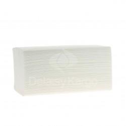 EMP 2 pl. lisses en W pure ouate blanc Ecolabel 22x35cm - Ct de 3750