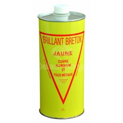 Brillant Breton Jaune spécial cuivre - Bidon de 1L