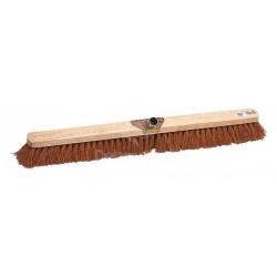 Balai coco professionnel |Monture bois douille métal inclinée L 100cm