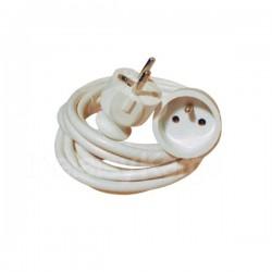 Cordon prolongateur L 10m | 10/16A | Câble 3x1,5mm²