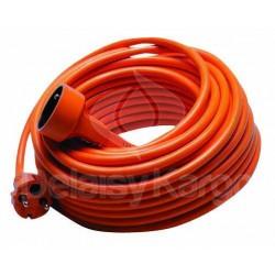 Cordon prolongateur orange pour jardin L 25m | Câble 3x1,5mm²