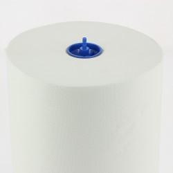 Essuie-mains 2 pl. g/c pure ouate blanc 150m P21 - Colis 6 rlx
