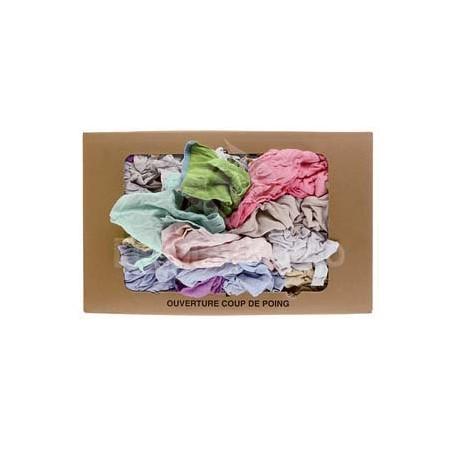 "Chiffon ""PYJ"" Pyjama molletonné couleur - 10 sacs de 1kg"