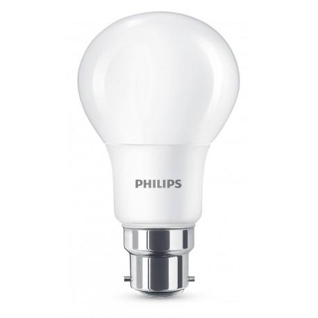Lampe LED Standard 8-60 W  B22 Dépolie  Philips