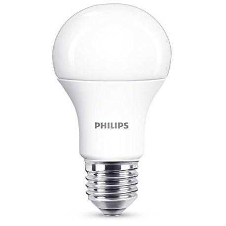 Lampe LED standard dépolie 8-60w E27 230V  PHILIPS