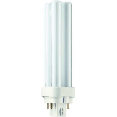 Lampe Fluocompacte PHILIPS PLC 18W G24Q2 4P*