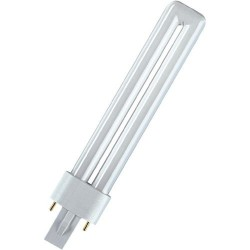 Lampe fluocompacte PL/S 9W  827 / 2 P G23 PHILIPS