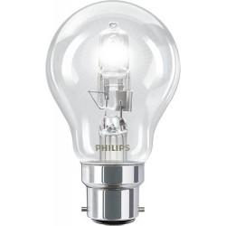 Lampe halogène standard 53W B22 230V