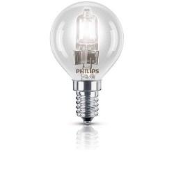 Lampe halogène sphérique E14 28W