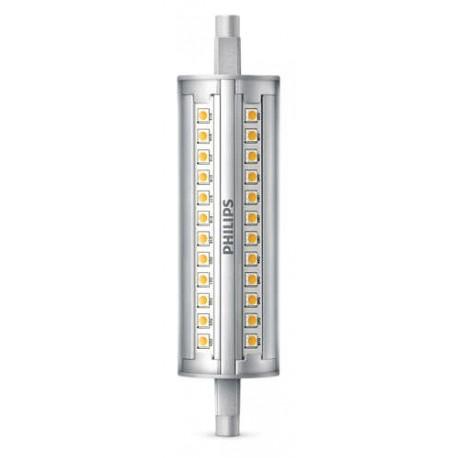 Lampe LED Crayon R7s 118mm 14-120W WH Comp. Variateur 1BC/6