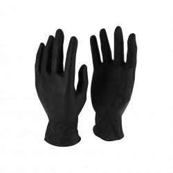 Gant nitrile noir non poudré AQL 1.5 (MàXL) - Boîte de 100