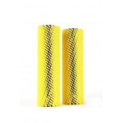Brosse jaune 35cm tapis et moquette pour DUPLEX 420