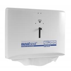 Distributeur de couvre siège WC NEAT SEAT blanc laqué