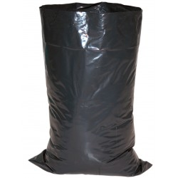 Sac gravats PEBD noir 140µ 600x850 10rlx10 - Ct. de 100