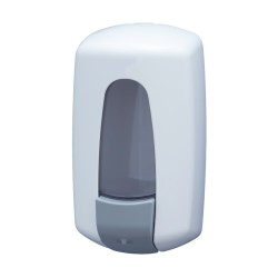 Distributeur de savon vrac 1L ABS Blanc