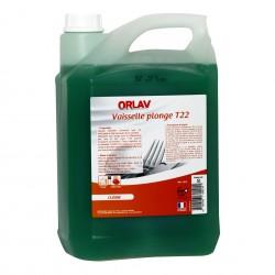 Liquide vaisselle plonge manuelle concentré ORLAV - 218 - Bidon 5L