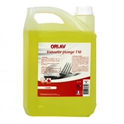 Liquide vaisselle plonge manuelle ORLAV - 0300 - Bidon 5L