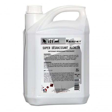 Dégraissant alcalin K241 polyvalent  Bidon de 5 Litres