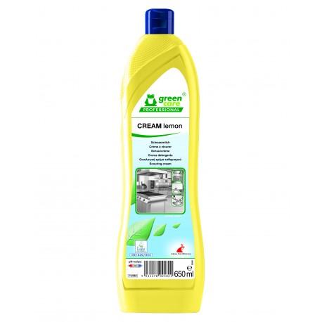 Crème à récurer Ecolabel CREAM LEMON - Bidon de 650ml