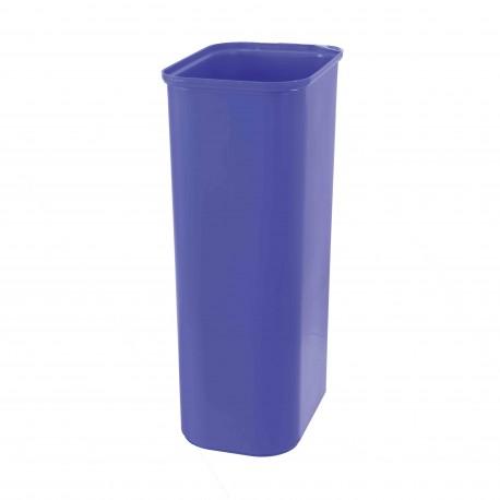 Poubelle Tri sélectif EPOXY avec bac de couleur 40 L