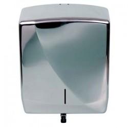 Distributeur essuie-mains feuille à feuille Inox brillant FUTURA