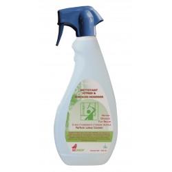Nettoyant vitres et surfaces Ecolabel IDEGREEN - 1802 - Spray 750ml