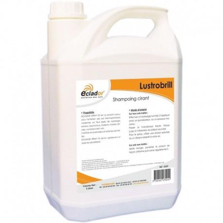 Shampoing cirant régénérant sols émulsionnés LUSTROBRILL - Bidon 5L