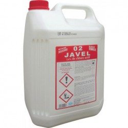 Javel liquide 2,6% - Bidon 5L