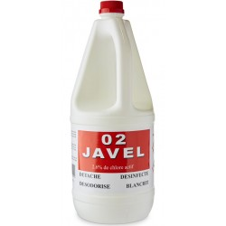 Javel liquide 2,6% - Bidon 2L