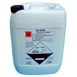 Javel liquide 9,6% - Bidon 20L
