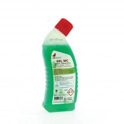 Gel WC parfum clémentine Ecolabel IDEGREEN - 1800 - Bidon 750ml