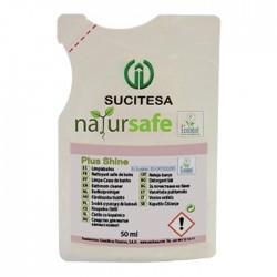 Nettoyant sanitaire ECOLABEL NATURSAFE SHINE - Ct de 16 dosettes 33ml