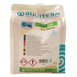 Nettoyant sols ECOLABEL NATURSAFE PLUS CLEANER - Ct 4 recharges 2L