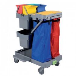 Chariot de désinfection ANTA 2  tir+couvercle