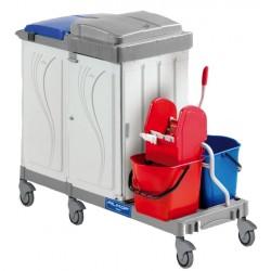 Chariot de ménage et lavage DME ALPHA 18024