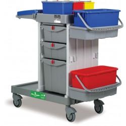 Chariot de ménage et lavage DME ALPHA 5153