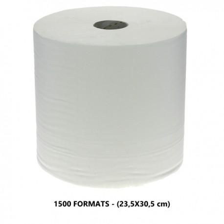 1500 fts pure ouate blanc 2 pl. 23.5x30.5cm - Colis 2 bob.