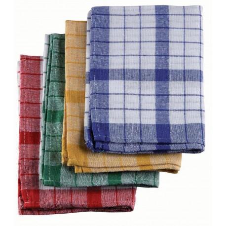 Torchon vaisselle coton 170g/m² - lot de 10