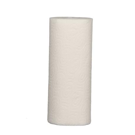 Essuie-tout ménager 50 fts FSC 2 pl. g/c blanc -166020- Colis 32 bob