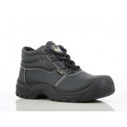 Chaussure de sécurité haute | Type BTP + industrie | Noir (36à47)