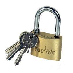 Cadenas laiton 40mm 3 clés