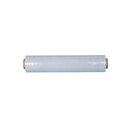 Film étirable transparent manuel 17µ 0.45x300m - Ct. de 6 bobines